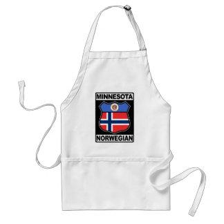 Norwegische amerikanische Schürze Minnesotas