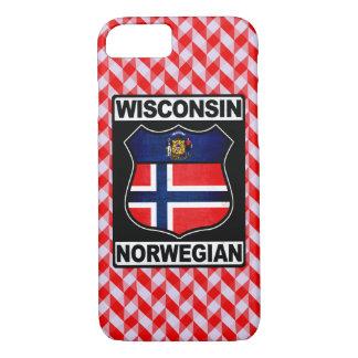 Norwegische amerikanische Telefon-Abdeckung iPhone 8/7 Hülle