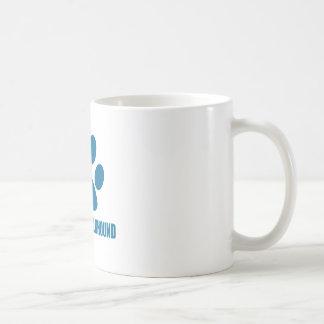NORWEGISCHE ELKHOUND HUNDEentwürfe Kaffeetasse
