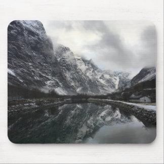 Norwegische Fjord-Mausunterlage Mauspad