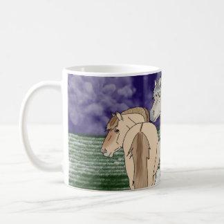 Norwegische Fjord-Pferde Kaffeetasse