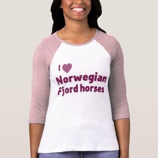 Norwegische Fjordpferde T-Shirt
