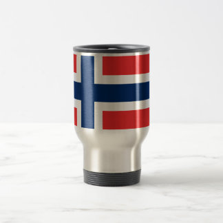 Norwegische Flagge Reisebecher