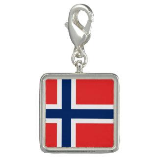 Norwegische Flaggen Charm