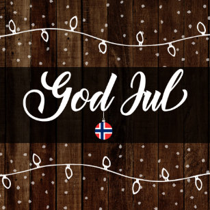 Frohe Weihnachten Norwegisch.Frohe Weihnachten Gott Jul Geschenke Zazzle De