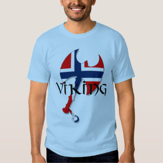 Norwegische Skandinavier Norge Norwegen Flagge Axt T Shirts