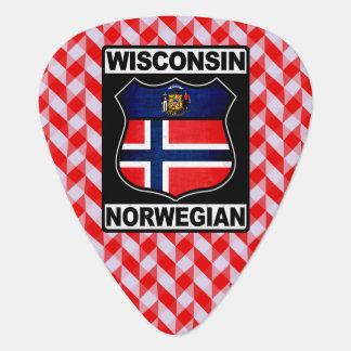 Norwegischer Amerikaner Wisconsins Plektrum