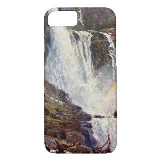 Norwegischer Wasserfall iPhone 8/7 Hülle