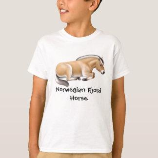 Norwegisches Fjord-Pferd scherzt T - Shirt