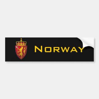 Norwegisches Wappen Autoaufkleber