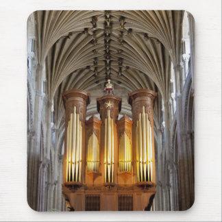 Norwich-Kathedralenorgan und Decke mousepad