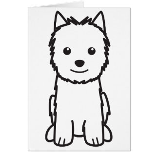 Norwich-Terrier-HundeCartoon Karte