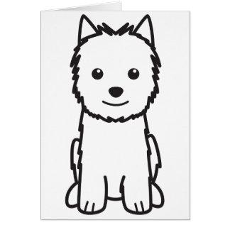 Norwich-Terrier-HundeCartoon Karte