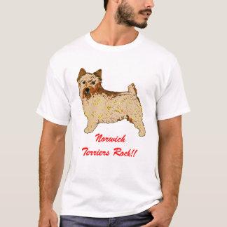 Norwich-Terrier - Körper verlassen T-Shirt