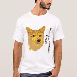 Norwich Terrier - Porträt T-Shirt