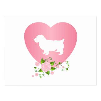 Norwich Terrier Postkarte