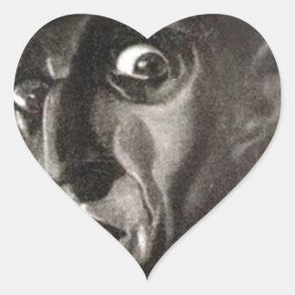 Nosferatu Herz-Aufkleber