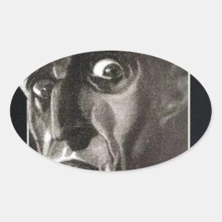 Nosferatu Ovaler Aufkleber