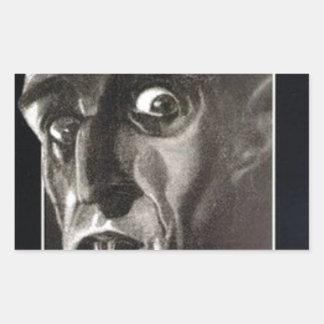 Nosferatu Rechteckiger Aufkleber