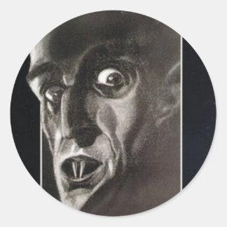 Nosferatu Runder Aufkleber