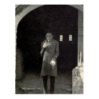 Nosferatu Vampir Postkarte