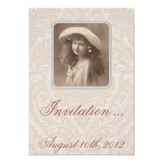 Nostalgische Einladung: Erinnern - viktorianisches 12,7 X 17,8 Cm ...