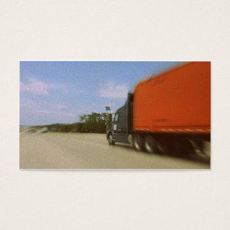 Nostalgische LKW-Fahrer-Begräbnis- Visitenkarte