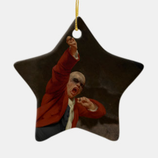 Nosterafu Keramik Stern-Ornament