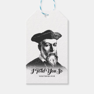 Nostradamus: Ich erklärte Ihnen so Geschenkanhänger
