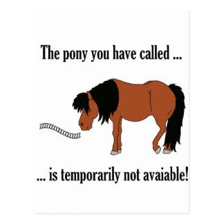 Not available! postkarten