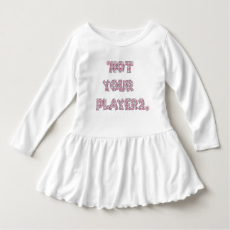 Not Your Player 2 Baby Kleid