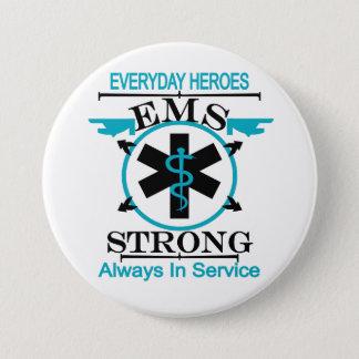Notärztliche Bemühungs-Woche EMS-Arbeitskraft Runder Button 7,6 Cm