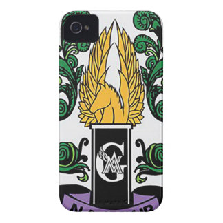 Not'Cho durchschnittliches Wächter-Wappen iPhone 4 Case-Mate Hülle
