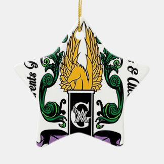 Not'Cho durchschnittliches Wächter-Wappen Keramik Ornament