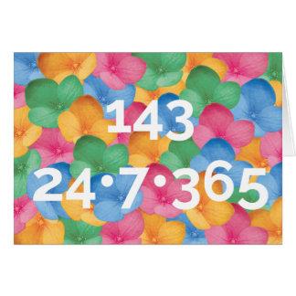 Notecard - 143, i-Liebe Sie Karte