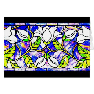 Notecard-Befleckter Glas-Louis Tiffany 13 Karte