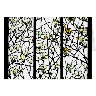 Notecard-Befleckter Glas-Louis Tiffany 8 Karte