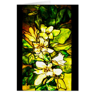 Notecard-Beflecktes Glas-Tiffany 2 Karte