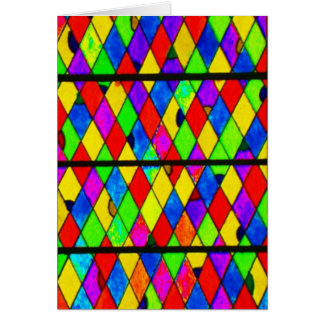 Notecard-Beflecktes Glass-4 Karte