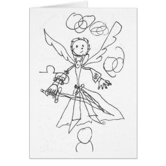 Notecard, Messgerät-Himmel Worrior #2 Karte