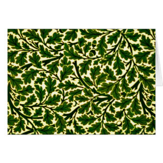 Notecard-Vintages Gewebe/Mode-William Morris 26 Mitteilungskarte