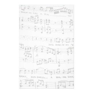 Noten individuelles druckpapier