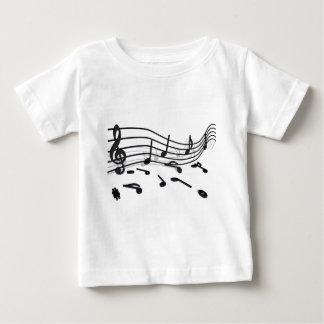 Noten, Musik Baby T-shirt