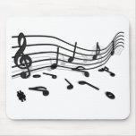 Noten, Musik Mousepads