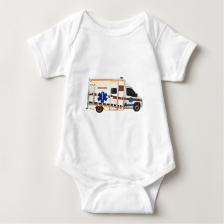 Notfall medizinisch baby strampler