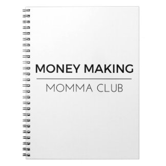 Notizblock - Geld, das Momma Verein macht