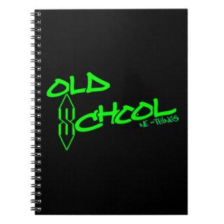 """Notizbuch der alte Schule""""S"""""""