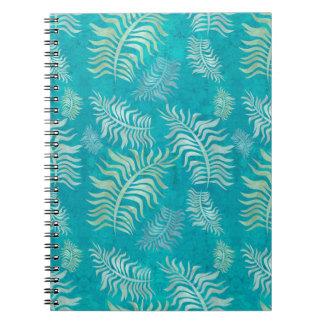 Notizbuch der Palmen-R5 Spiral Notizblock