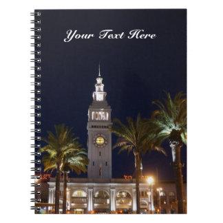 Notizbuch des San Francisco Fähren-Gebäude-#6 Notizblock