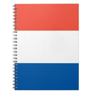 Notizbuch Frankreich Fahne Notizblock